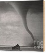 Tornado Wood Print by Gregory Dyer