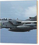 Tornado Takeoff Wood Print