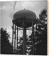 Tornado Tower Wood Print