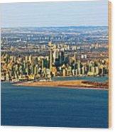 Toronto 2 Wood Print
