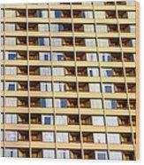 Toronto Apartment Building Wood Print