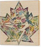 Toronto Blue Jays Poster Art Wood Print