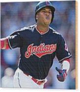 Toronto Blue Jays V Cleveland Indians Wood Print