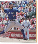 Toronto Blue Jays V Texas Rangers Wood Print