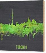 Toronto Canada Wood Print