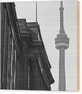 Toronto CN Tower Wood Print