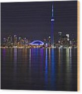 Toronto From Center Island Wood Print