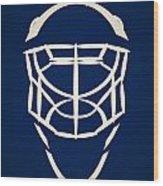 Toronto Maple Leafs Goalie Mask Wood Print