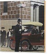 Toronto Traffic Cop 1912 Wood Print