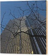 Toronto's Golden Bank - Royal Bank Plaza Downtown Wood Print