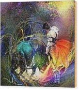 Toroscape 20 Wood Print