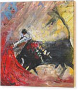 Toroscape 46 Wood Print