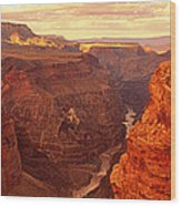 Toroweap Point, Grand Canyon, Arizona Wood Print