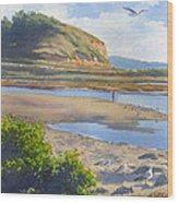 Torrey Pines Inlet Wood Print