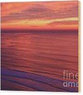 Torrey Pines Twilight Wood Print
