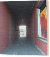 Torrington Passageway 1 Wood Print