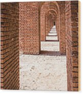 Tortugas Infinite Walkway Wood Print