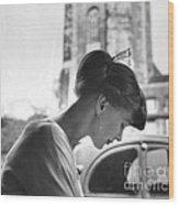 Torun Bulow-hube In Antibes 1962 Wood Print