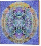 Torusphere Synthesis Interdimensioning Soulin Iv Wood Print
