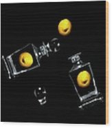 Toss Me A Lemon Wood Print by Diana Angstadt