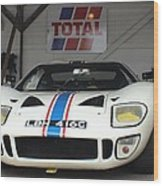 Total Ford Gt 40 Wood Print