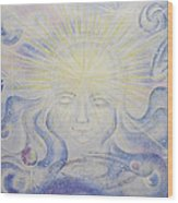 Total Freedom Af Mind And Spirit Wood Print