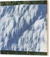 Total Solar Eclipse Wood Print