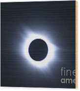 Total Solar Eclipse Wood Print by Stephen & Donna O'Meara