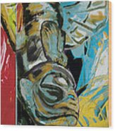 Totem Pole 2 Wood Print