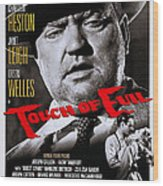 Touch Of Evil, Us Poster Art, Top Orson Wood Print