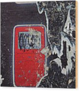Touch Screen/ Subtext 2007 Wood Print