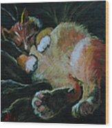 Toughie Wood Print