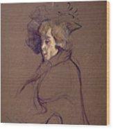 Toulouse-lautrec J Wood Print