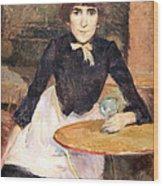 Toulouse Lautrec's A La Bastille -- Jeanne Wenz Wood Print by Cora Wandel