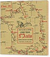 Tour De France 1914 Wood Print