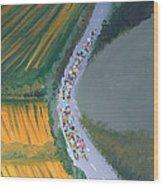 Tour De France 2 Wood Print