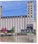 Tour Down Buffalo River Wood Print