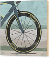 Tour Down Under Bike Race Wood Print by Andy Scullion