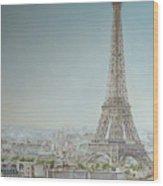 Tour Eiffel 1 Wood Print
