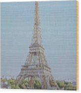 Tour Eiffel 3 Wood Print