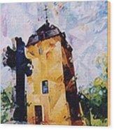 Tour Saint Martin Wood Print