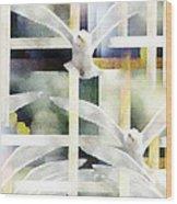 Towards Freedom Wood Print by Gun Legler