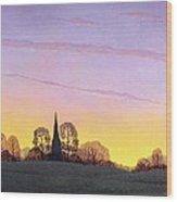 Towards Grandborough Wood Print