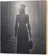 Towards The Light Wood Print by Joana Kruse