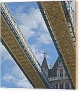 Tower Bridge Wood Print by Christi Kraft