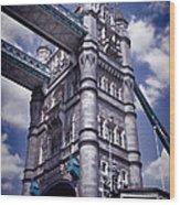 Tower Bridge London Wood Print by Mariola Bitner