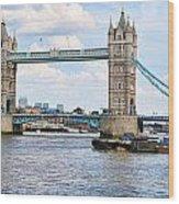 Tower Bridge Panorama Wood Print