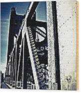 Tower Bridge - Throwback Wood Print