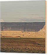 Tower Butte Panorama Wood Print