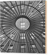 Tower City Center Architecture Wood Print